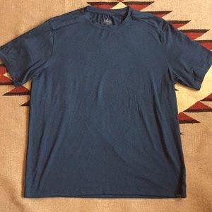 cb8f294fc REI men s performance polyester tee shirt size L